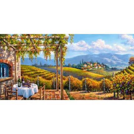 Пазл Касторленд 4000 (249) Виноградник 138*68см, фото 2
