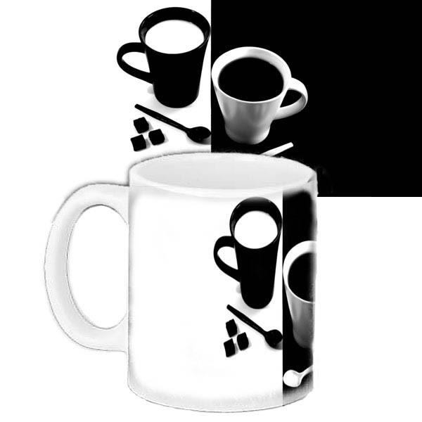 Кружка подарок с принтом Кофе
