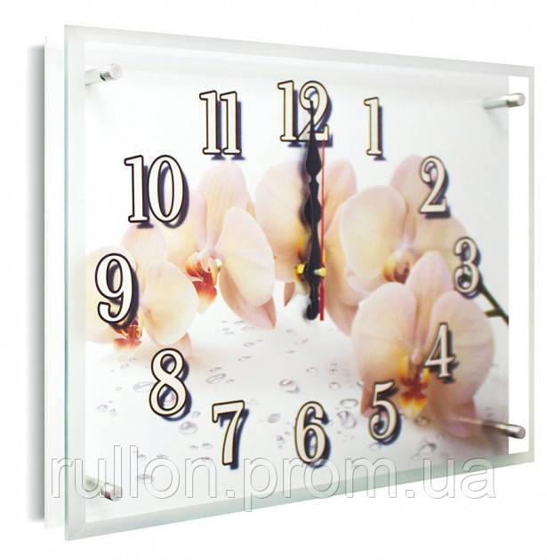 Часы настенные с картиной под стеклом YS-Art 30х40см (PB020)