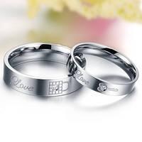 """Кольца для пары """"Ключ от сердца"""", в наличии жен. 16.5, 17.3, 18.0, муж. 18.0, 19.0, фото 1"""