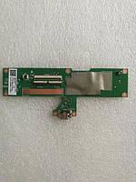 Плата нижняя (плата зарядки) к планшету Asus Nexus 7 II (2013) ME571K с разъемом зарядки и компонентами