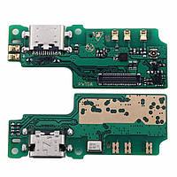 Плата нижняя (плата зарядки) Blackview S8 с разъемом зарядки и компонентами