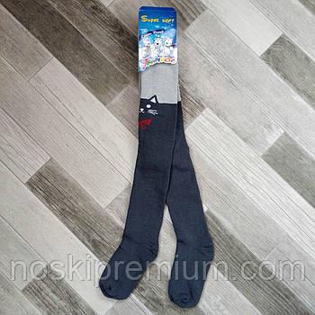 Колготки детские махровые х/б Классик Junior, Cotton 450 Den, 24 размер, 152-158 см, 15801