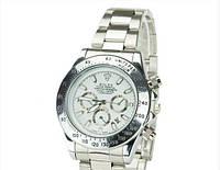 Часы мужские Rolex кварцевые серебристые