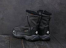 Кроссовки А2086-2 (Columbia Waterproof) (зима, мужские, текстиль, серый), фото 2