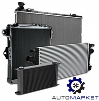Радиатор охлаждения основной Toyota Land Cruiser 200 2007-2015 (J200), фото 1