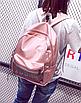 Рюкзак женский городской Young Розовый, фото 2