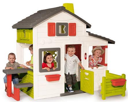 Домик игровой Friends House Floralie Smoby 310209, фото 2