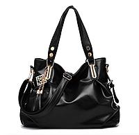 Сумка женская с ручками большая Fashion Bag Черный