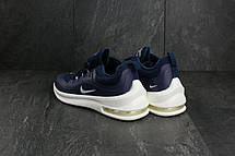 Кроссовки A 1868-4 (Nike Air) (весна-осень, мужские, резина, сине-белый), фото 2