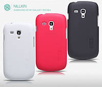 Чехол для Samsung Galaxy S3 mini i8190 - Nillkin Super Frosted Shield (пленка в комплекте)