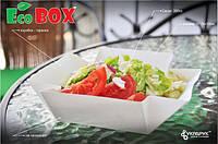 Бумажная упаковка для пищевых продуктов 10Х10Х5, EcoBox