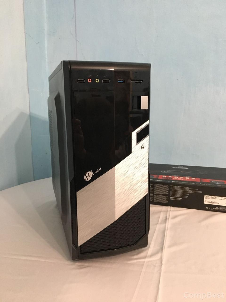 MSI Tower / Intel® Core™ i7-2600 (4 (8) ядра по 3.40 - 3.80 GHz) / 16 GB DDR3 / new 120 GB SSD + 500 GB HDD / Radeon RX580 8GB GDDR5 256bit / БП 650 W
