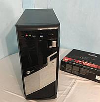 MSI Tower / Intel® Core™ i7-2600 (4 (8) ядра по 3.40 - 3.80 GHz) / 16 GB DDR3 / new 120 GB SSD + 500 GB HDD / Radeon RX580 8GB GDDR5 256bit / БП 650 W, фото 2