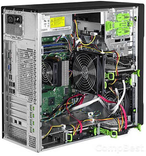 Сервер FUJITSU PRIMERGY TX100 S3p Tower Server / Intel® Xeon® E3-1220 (4 ядра по 3,1 - 3,4 GHz) / 8 GB DDR3 / 500 GB HDD, фото 2