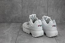 Кроссовки B 223-2 (Fila Disruptor 2) (весна-осень, женские, кожа прессованая, белый), фото 2