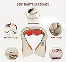 Массажер стучащий, от боли в шеи, спине, плечах (Cervical Massage Shawls), фото 4