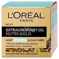 Легкий питательный крем Extraordinary Oil Nutri-Gold, 50 мл, L'Oreal Paris, Франция
