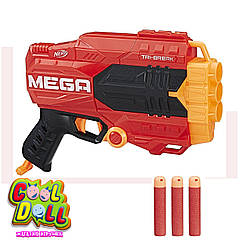 Бластер Нёрф Мега Три-Брейк Nerf N-Strike Mega Tri-Break