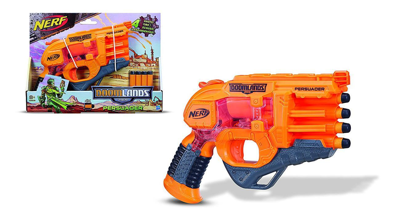 Бластер Нерф Думлэндс Убеждение 2169 Nerf Doomlands 2169 Persuader Blaster (B4949)