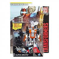 Трансформер Альфа Браво Войны Гештальтов - Alpha Bravo, Deluxe Class, Combiner Wars, Hasbro