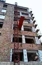Висота підйому Н-91 метрів. Будівельні підйомники для оздоблювальних робіт на 750 кг., фото 3