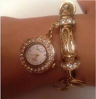 Часы-браслет GUESS  золотистые