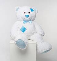 М'який плюшевий ведмедик із латками 150 см
