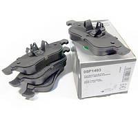 Колодки тормозные передние Renault Dokker (Рено Докер). Производитель LPR Италия - 05P1493