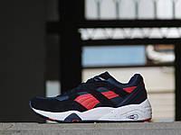 b869e8321aaa Puma Trinomic женские кроссовки синие c красным (Реплика ААА+), цена ...