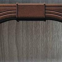 Добавочный комплект к арке Новый Стиль ПВХ 400 grey DeLuxe