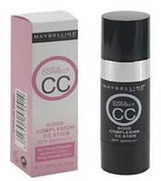Тональный крем со спонжем Maybelline Care&Correct CC 22