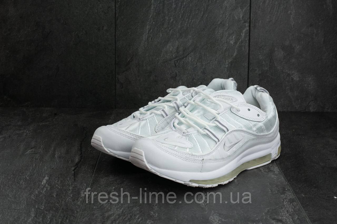 a6621e2f Кроссовки A 118-2 (Nike Air Max 98 x Supreme) (весна-осень, мужские ...