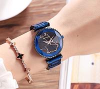 Женские наручные часы 2018 Sanda 238 Blue