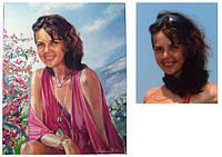 Портреты на заказ (холст, масло), заказ портретов в Киеве