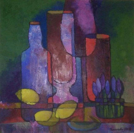 Картина Натюрморт с лимонами Галина Кислякова 2009 год, фото 2