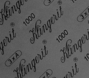 Асбестовый прокладочный материал Klingerit