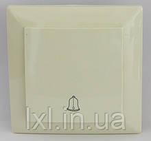 Кнопка дзвінка (білий, крем) LXL ULTRA