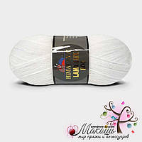 Пряжа Гималаи Лана Люкс 800 Himalaya Lana Lux 800, №74601, белый