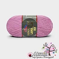 Пряжа Гималаи Лана Люкс 800 Himalaya Lana Lux 800, №74607, розовый