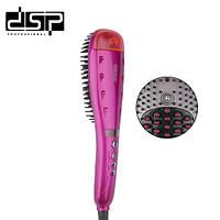 Электрический выпрямитель для волос щетка расческа DSP E-10040, фото 1