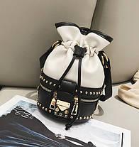 Стильная сумка мешок , фото 3