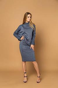 Стильный костюм юбка и свитер  из качественного трикотажа