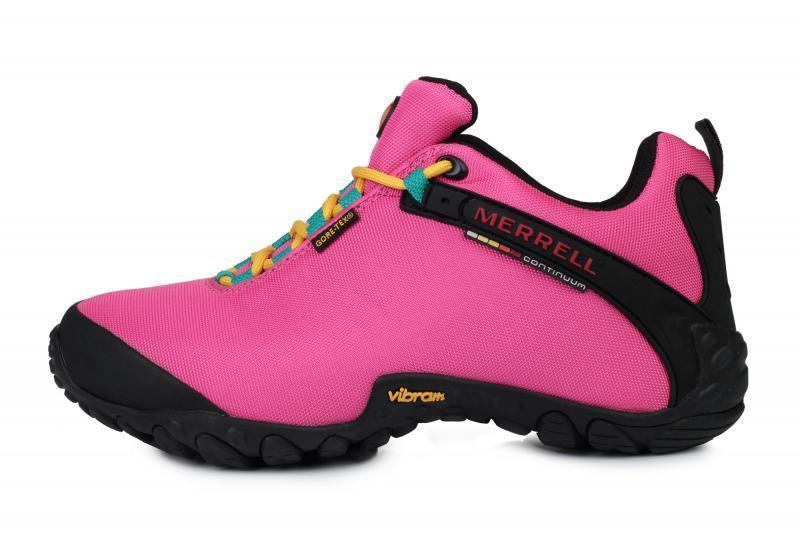 340ed01b Женские кроссовки Merrell Continuum Goretex Pink Black W размер 37 Розовый  UaDrop116830-37, КОД