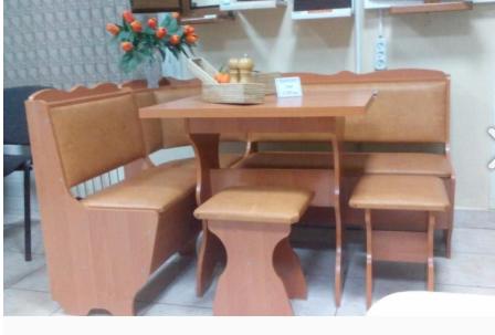 Кухонный уголок  Лорд ольха, Раскладной стол