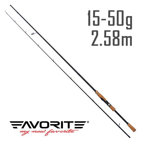 Спиннинг Favorite Neo Breeze BRS-862MH 2.58m 15-50g Ex-Fast