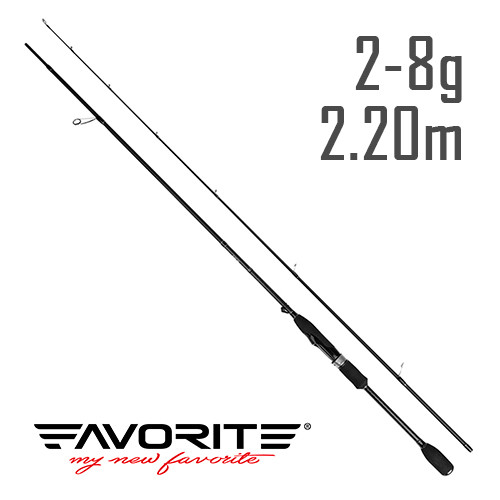 Спиннинг Favorite Professional NEW PRF-732UL 2.2m 2-8g Mod-Fast