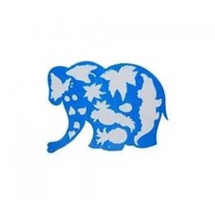 Трафарет ЛУЧ фігурний (17С-1145-08) Слоненя (1), фото 2