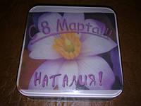 Мыло с картинкой к 8 МАРТА!-100 грамм, фото 1