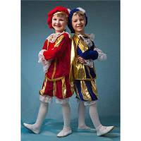 Карнавальное костюм принц ,паж в разных цветах 3-8 лет, фото 1